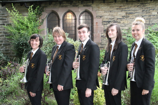 Our front-row cornet players
